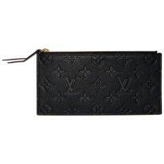 Louis Vuitton Empreinte Pochette Felicie Clutch Insert in Black
