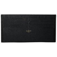 Louis Vuitton Empreinte Pochette Felicie Card Holder Wallet Insert in Black
