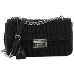Prada Sound Shoulder Bag Tessuto Gaufre Small