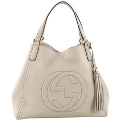Gucci Soho Shoulder Bag Leather Medium