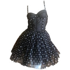 Christian Dior Gianfranco Ferre Numbered Demi Couture Corset Ballerina Dress
