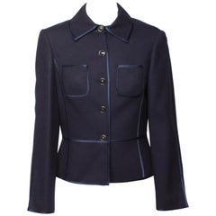 Louis Feraud Navy Jacket