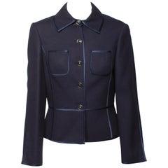 Louis Feraud Navy Jacket