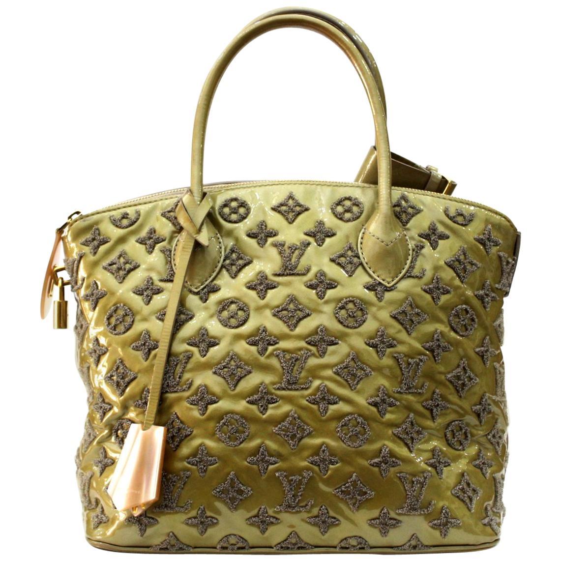 2011 Louis Vuitton Lockit Gris Limited Edition