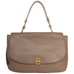 Emporio Armani Top handle Shopper Marrone Calfskin leather Y3A003-YG233