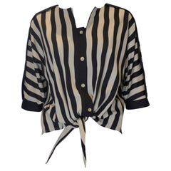 Vintage London Look Stripe Top