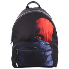 Christian Dior Homme Backpack Printed Canvas