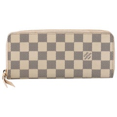 Louis Vuitton Clemence Wallet Damier