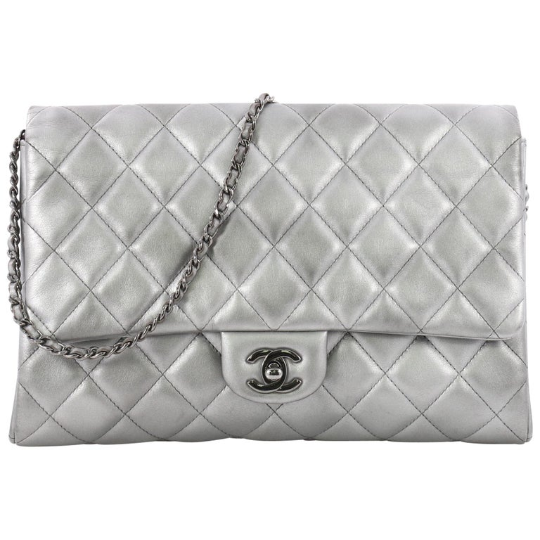 19baa30dcb4368 Chanel Clutch with Chain Quilted Lambskin at 1stdibs
