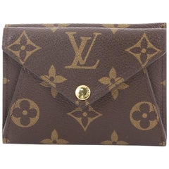Louis Vuitton Origami Compact Wallet Monogram Canvas