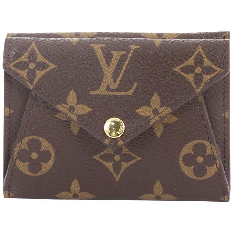 7d7bf6ae10 Louis Vuitton Origami Compact Wallet Monogram Canvas