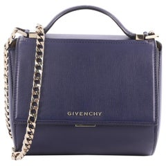 Givenchy Chain Pandora Box Handbag Leather Mini