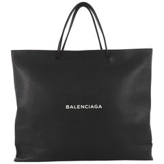 Balenciaga Shopping Tote Leather East West