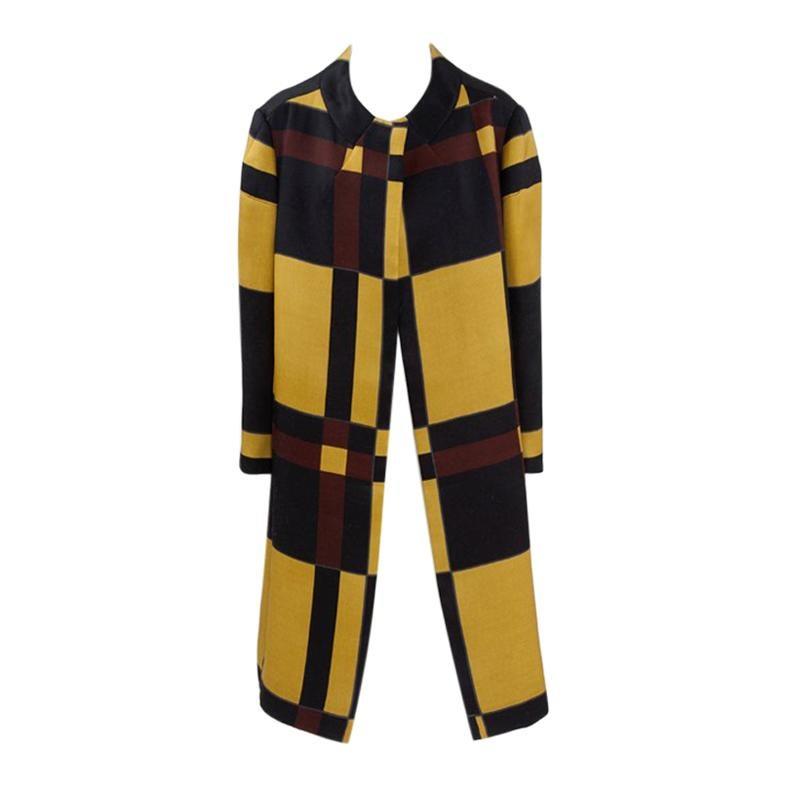 Marni Runway Silk & Wool Coat, Fall-Winter 2008