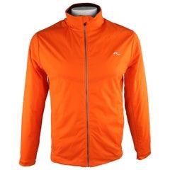 KJUS 42 Orange Solid Polyamide Jacket