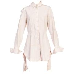 1990s Alaia Shirt Dress