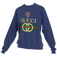 1980s Bootleg Gucci Sweat Shirt