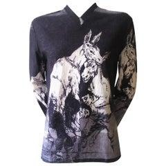Alexander McQueen Early 1990's Goya Print T-shirt