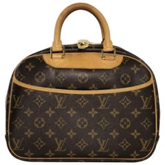 Louis Vuitton Monogram Trouville Satchel Handbag
