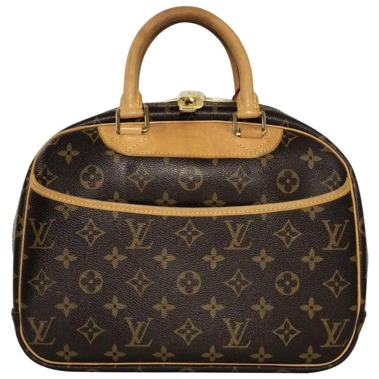 Louis Vuitton Monogram Trouville Satchel Handbag