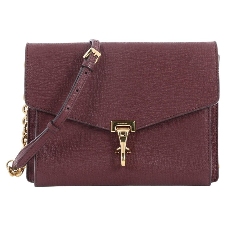 d218a8200435 Burberry Macken Crossbody Bag Leather Small at 1stdibs
