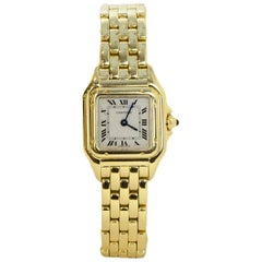 Cartier 18k Yellow Gold Small Panthere de Cartier Watch rt. $19,800