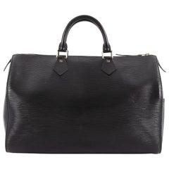 Louis Vuitton Speedy Handbag Epi Leather 35