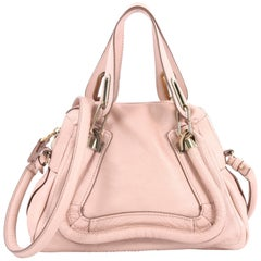 Chloe Paraty Top Handle Bag Leather Small
