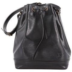 Louis Vuitton Noe Handbag Epi Leather Large,
