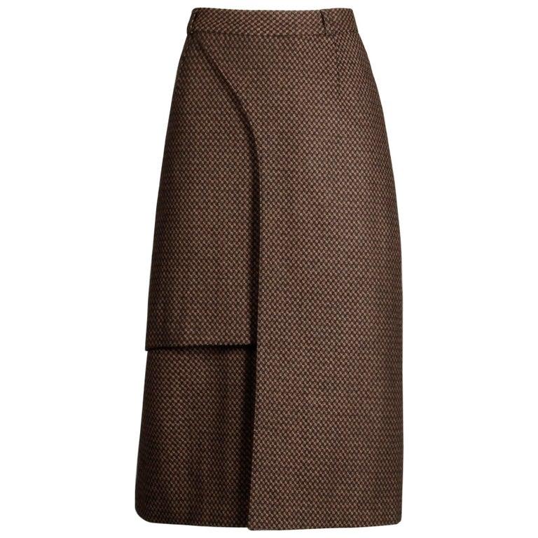 Philippe Dalma Paris Vintage Avant Garde Pencil Skirt- 1980s France For Sale