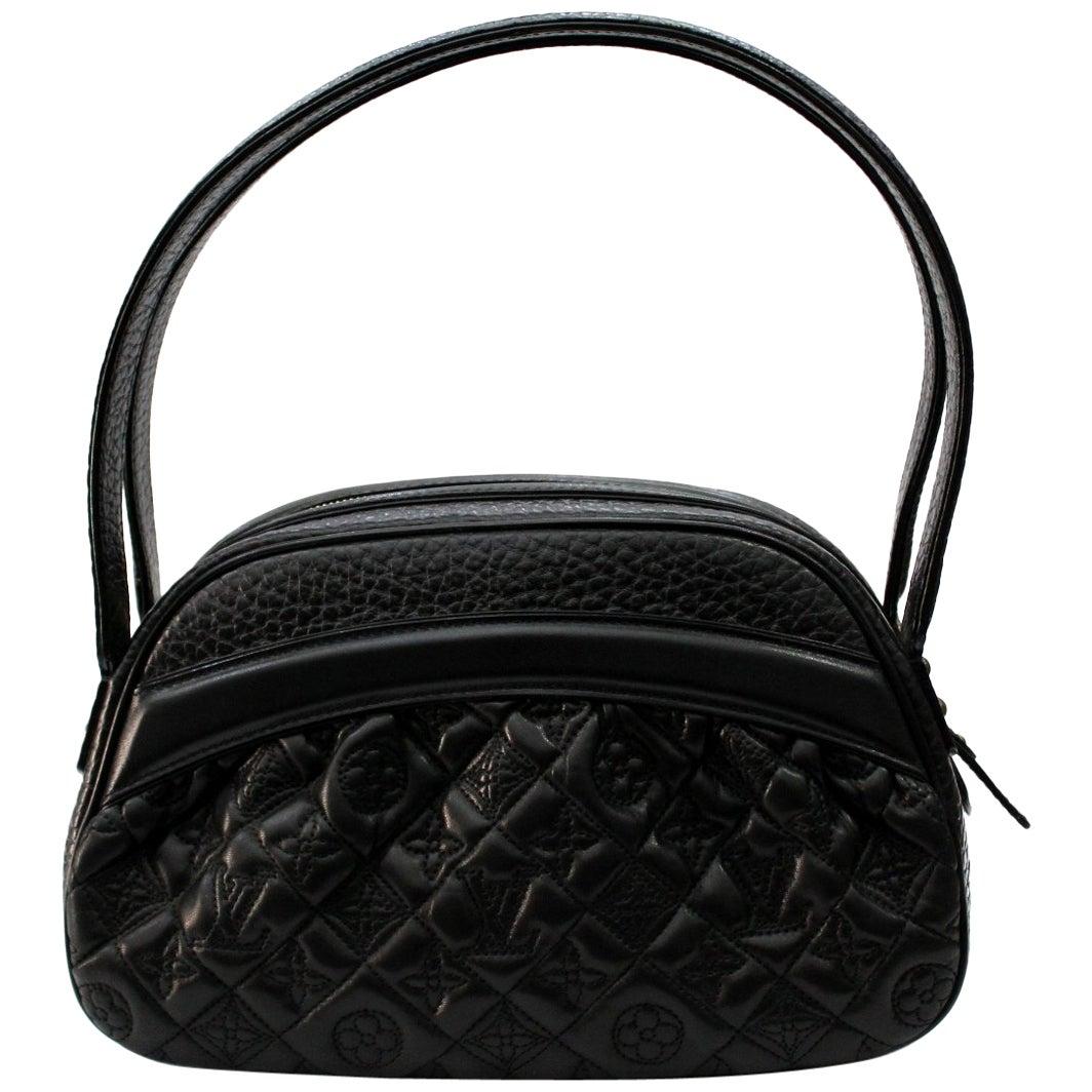 Louis Vuitton Limited Ed Black Lambskin Klara Vienna Bag