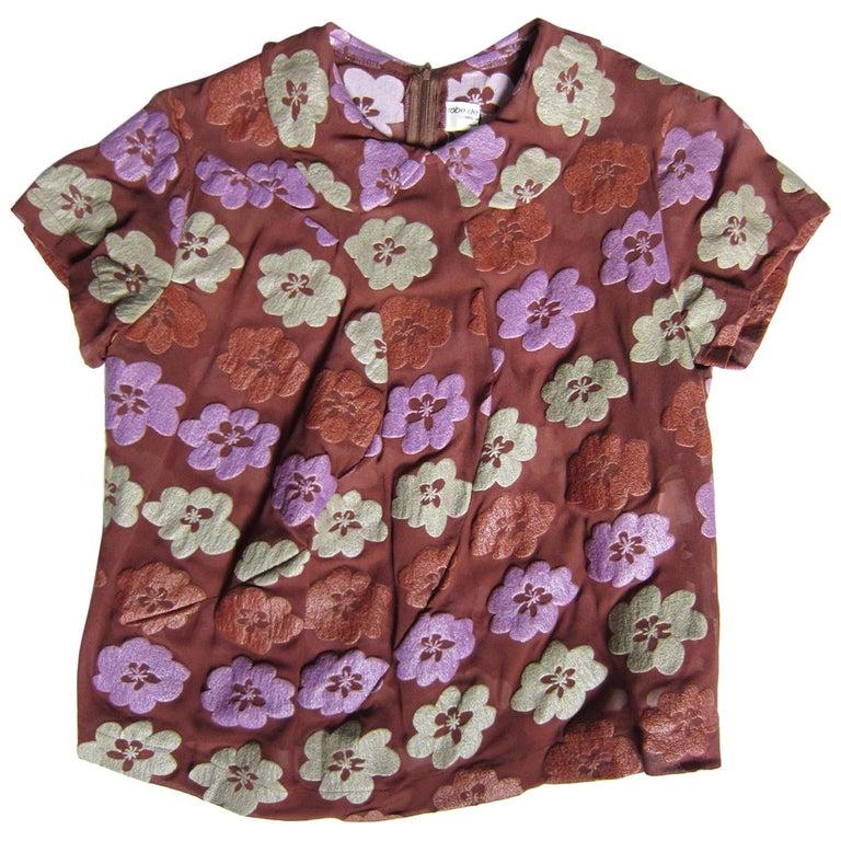 Comme des Garcons Robe de chambre Flower Top AD 1996