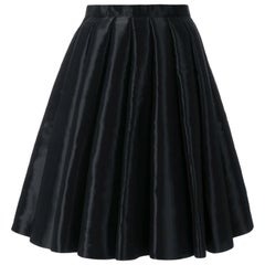 Junya Watanabe Comme des Garcons Catwalk Black Flared Skirt