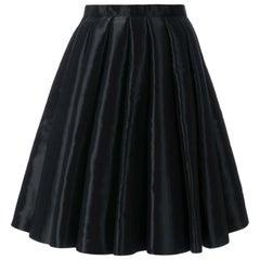Junya Watanabe Comme des Garcons Catwalk Black Flared Skirt