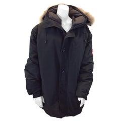 Canada Goose Black Fur Trimmed Coat