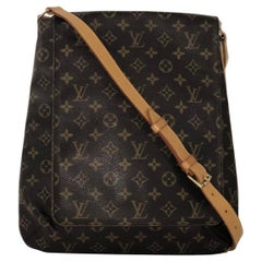 Louis Vuitton Monogram Musette Salsa GM Crossbody Shoulder Handbag
