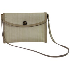 Vintage Shoulder Hermes Rio Clutch
