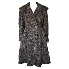 Vintage Boucle Wool 'New Look' Coat