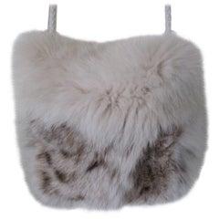 Petite Lynx Fur clutch