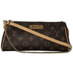Louis Vuitton Monogram Eva Crossbody Shoulder Handbag