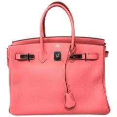 Hermes Birkin 35 Bubblegum Pink