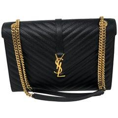 Black YSL Bag