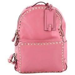 Valentino Rockstud Backpack Leather Medium