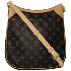 Louis Vuitton Monogram Odeon PM Crossbody Shoulder Handbag