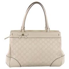 Gucci Mayfair Satchel Guccissima Leather Medium