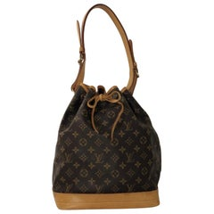 Louis Vuitton Monogram Noe GM Bucket Shoulder Handbag