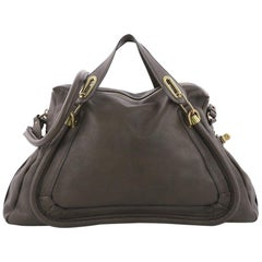 Chloe Paraty Top Handle Bag Leather Large
