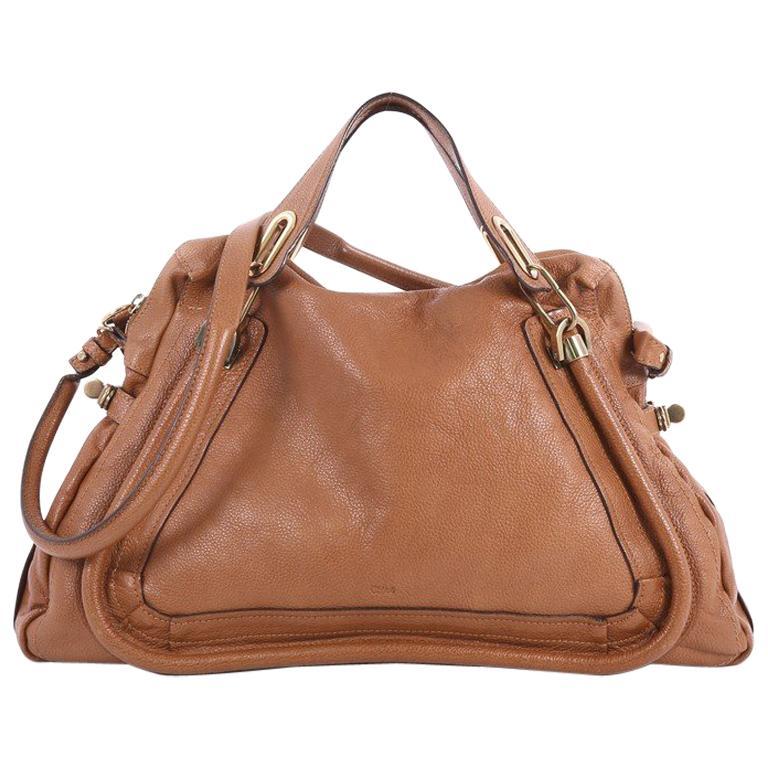 Chloe Paraty Leder Handtasche, Groß