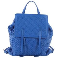 Bottega Veneta Drawstring Backpack Intrecciato Nappa Medium