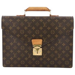 Louis Vuitton Serviette Conseiller Briefcase Monogram Canvas